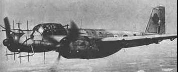 Истребитель Ju-88G