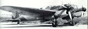 Бомбардировщик CASA 2-III