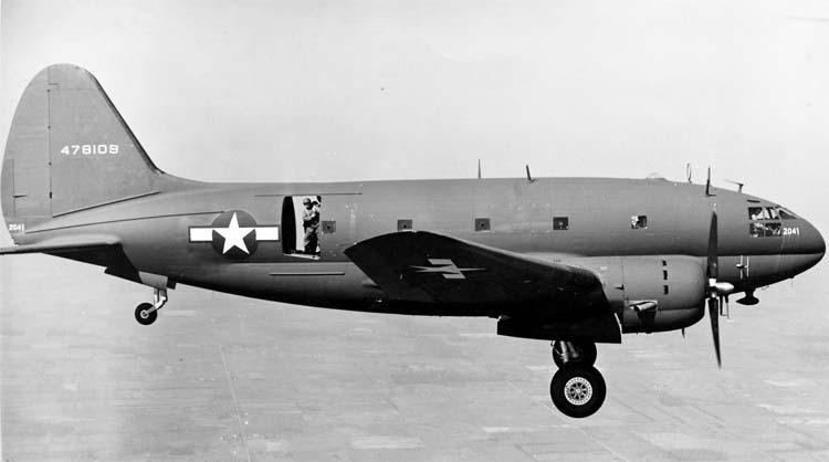 Транспортный самолет  Curtiss-Wright С-46 Commando
