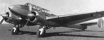 Истребитель Potez 630.