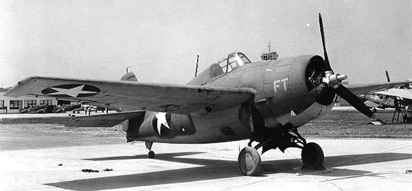 Палубный истребитель Grumman Wildcat – F-4F-4B