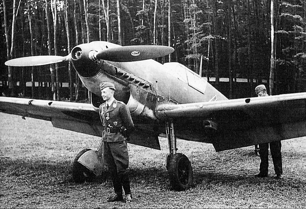 Истребитель Messerschmitt - Bf.109С