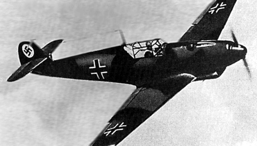 Истребитель Messerschmitt Bf.109 D