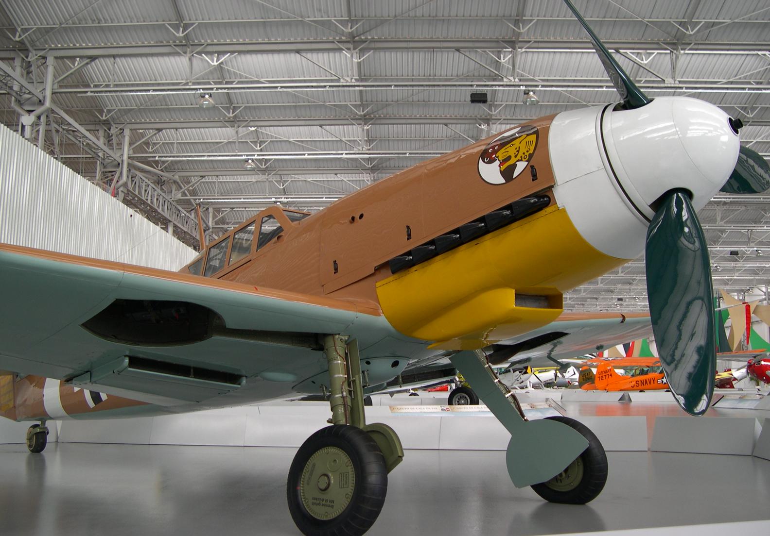 Истребитель Messerschmitt - Bf.109Е