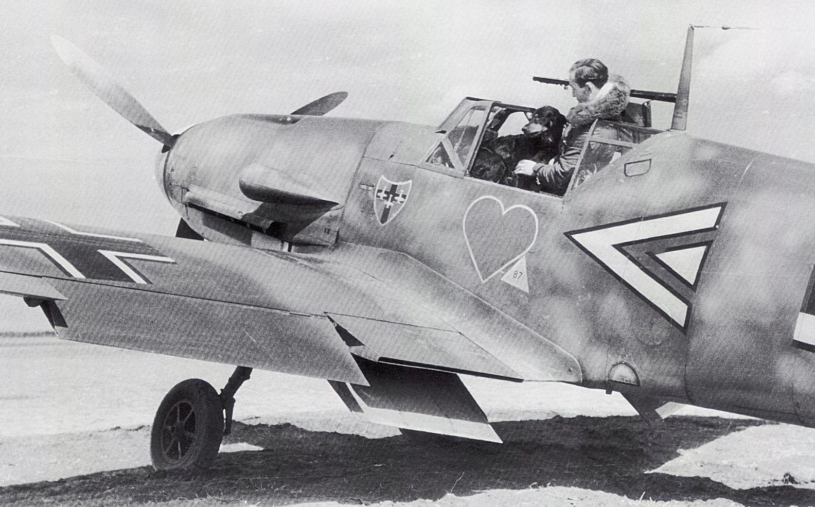Истребитель Messerschmitt Bf.109 F