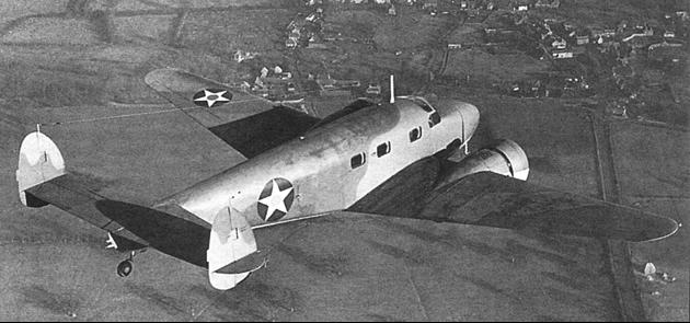 Транспортный самолет Lockheed C-40 (L-12 Electra Junior)