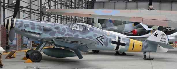 Истребитель Messerschmitt Bf.109G-6/R-6