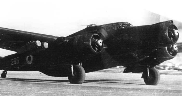 Бомбардировщик CANT Z-1007ter