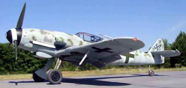 Истребитель Messerschmitt  Bf.109К