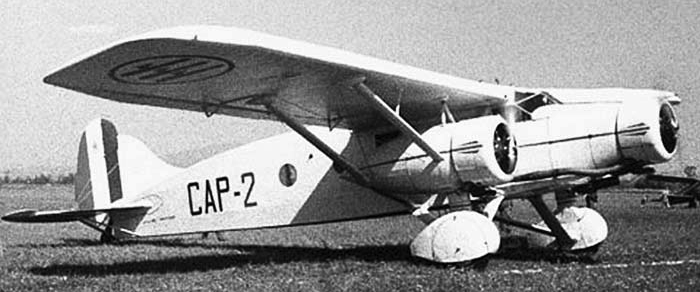 Бомбардировщик Caproni Ca.133