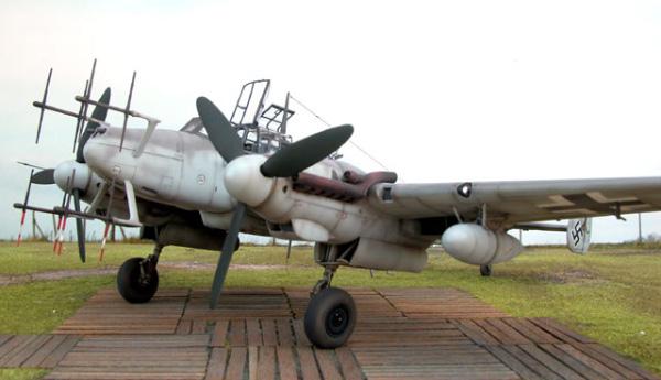 Истребитель Messerschmitt Bf.110