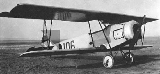 Учебно-тренировочный самолет Fokker S-IV