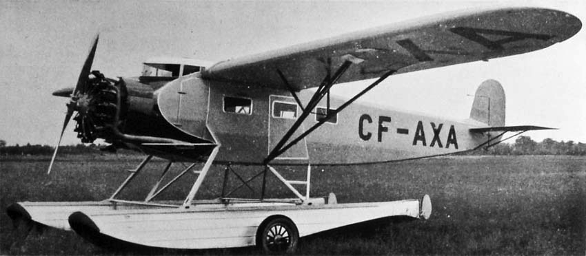 Гидросамолет Fairchild-82