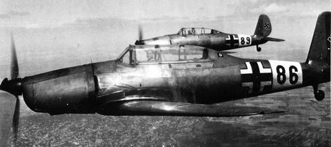 Учебно-тренировочный самолет Arado Ar-96