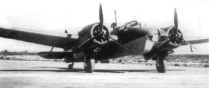Бомбардировщик Bristol Blenheim Mk-VT