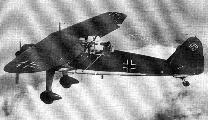 Ближний разведчик Henschel Hs.126А-1