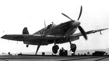 Палубный истребитель Supermarine Seafire Mk-III