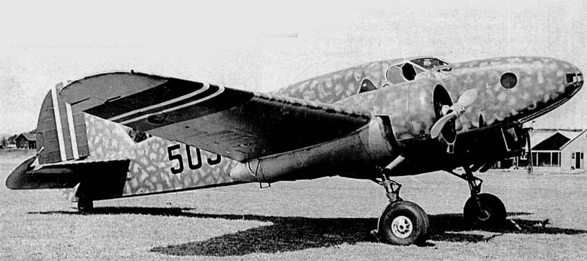 Бомбардировщик Caproni Ca.310 Libeccio