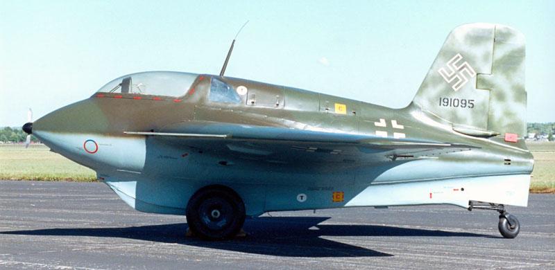 Истребитель Messerschmitt Me.163 Komet