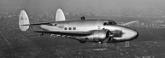 Транспортный самолет Lockheed 14 (С-111)