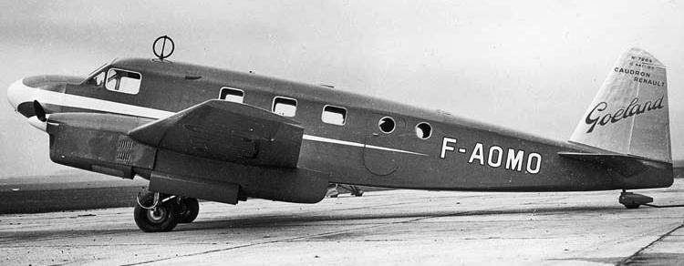 Транспортный самолет  Caudron C-449 Goeland