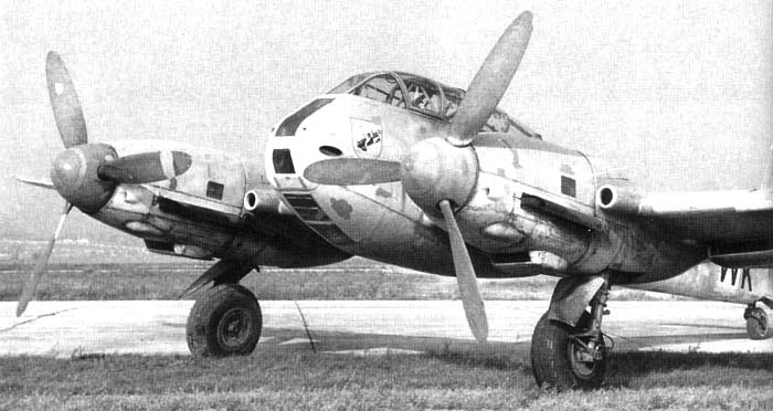 Истребитель Messerschmitt Me.410 Hornisse