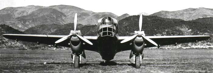 Бомбардировщик Piaggio P.32