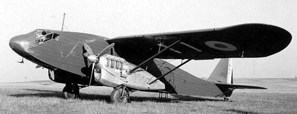Транспортный самолет Potez-65
