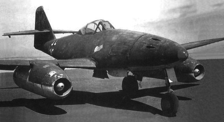 Реактивный истребитель Messerschmitt Me.262