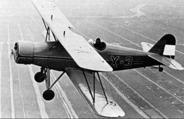 Учебно-тренировочный самолет Fokker S-IX