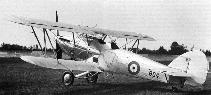 Многоцелевой самолет Hawker Hartbeest