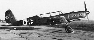 Учебно-тренировочный самолет Arado Ar-396