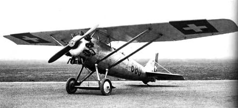 Учебно-тренировочный самолет Dewoitine D-26