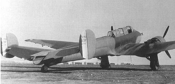 Истребитель Potez 631