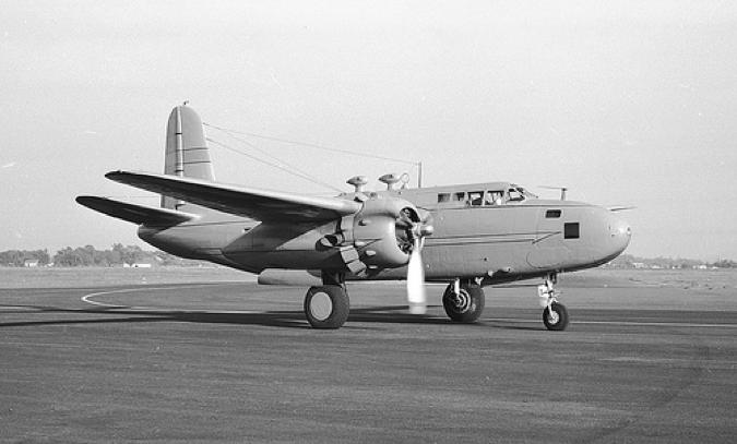 Ночной разведчик Douglas F-3А