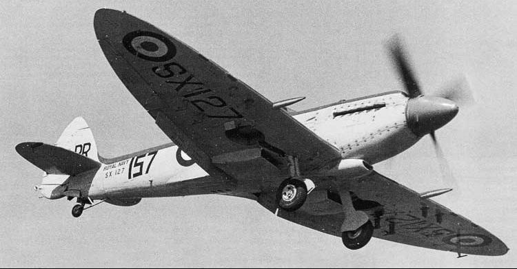Палубный истребитель Supermarine Seafire Mk-XV