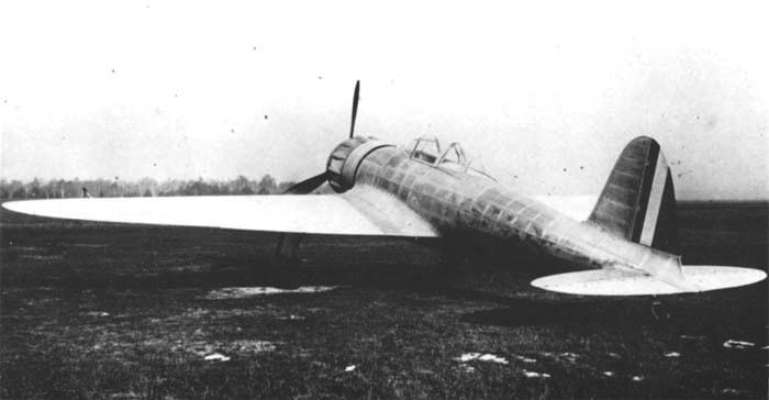 Истребитель Caproni Vizzola F.5