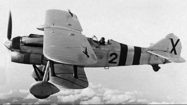 Истребитель Fiat C.R.32