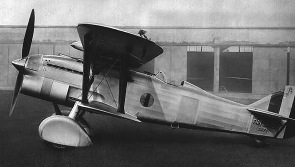 Истребитель Fiat CR.32bis