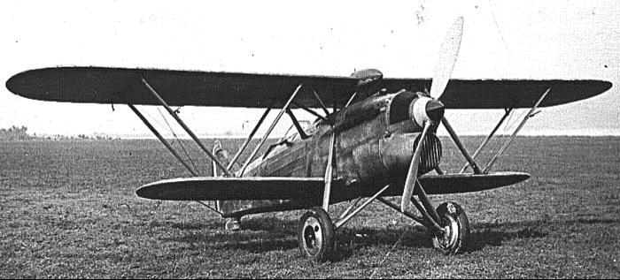 Истребитель Fiat CR.32ter