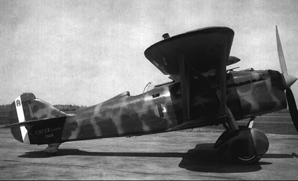Истребитель Fiat  CR.32quater