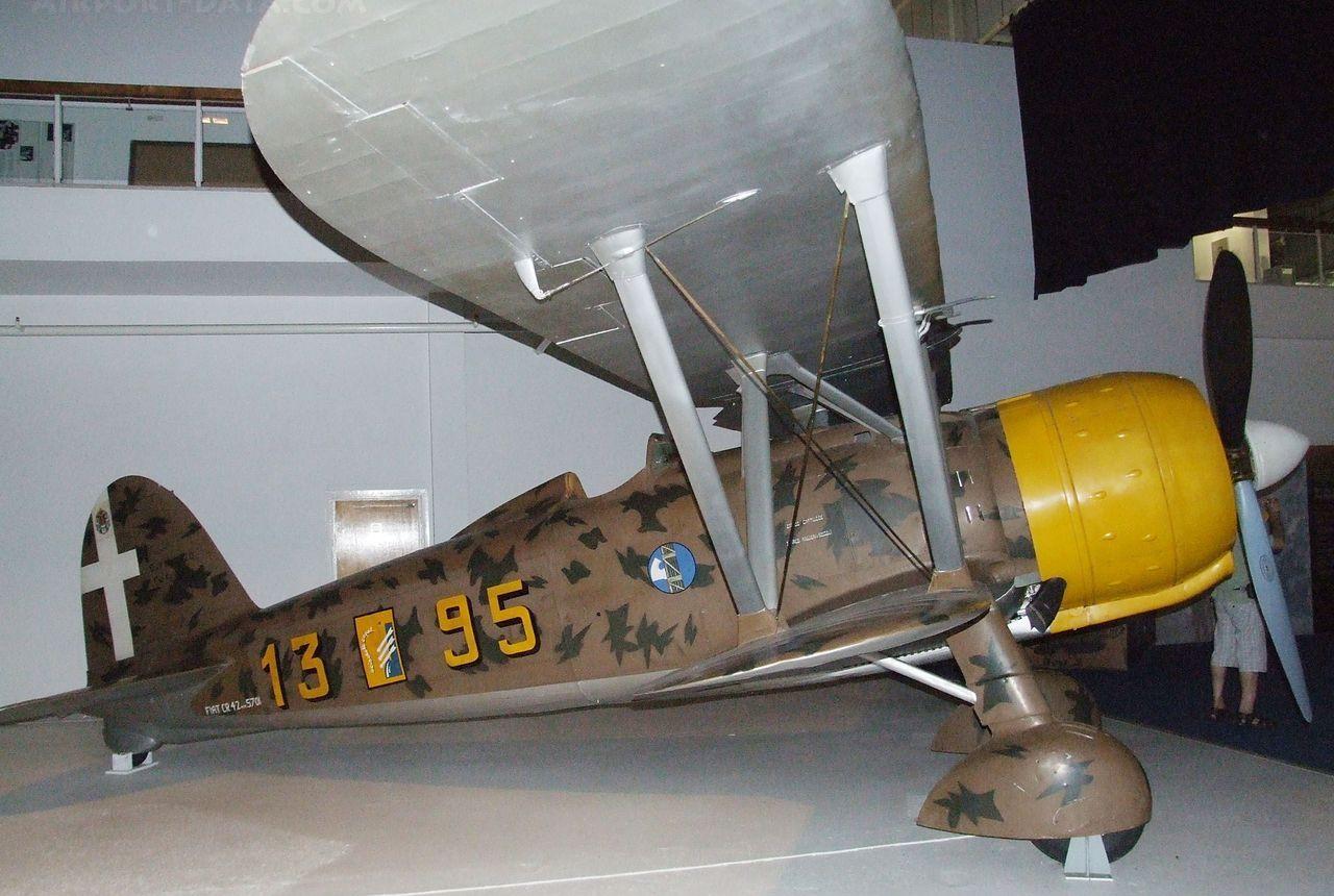 Истребитель Fiat C.R.42 Falco