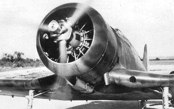 Истребитель Fiat G.50  Freccia