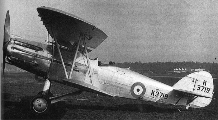 Многоцелевой самолет Hawker Hector
