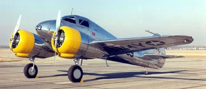 Учебно-тренировочный самолет Curtiss-Wright AT-9 Jeep