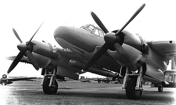 Бомбардировщик Bristol Brigand TF.Mk.1