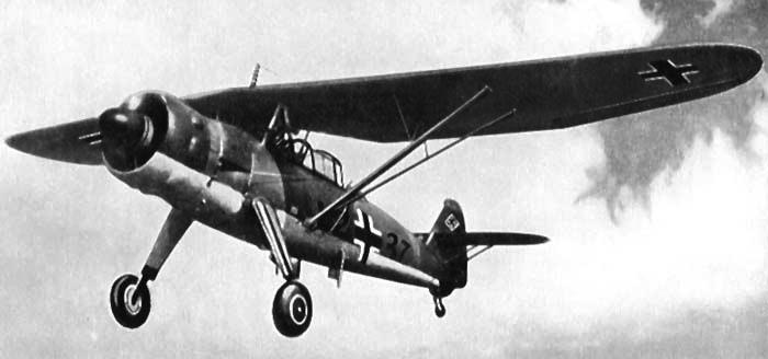 Ближний разведчик Henschel Hs.126В-1