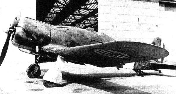 Истребитель Fiat G.50bis