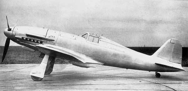 Истребитель Fiat Centauro G.55А