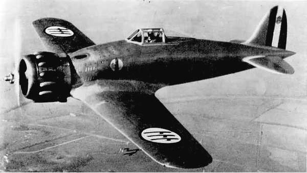 Истребитель Macchi MC.200 Saetta